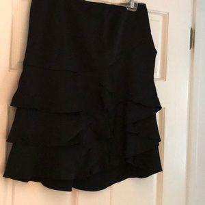 DKNY Ruffledd Skirt